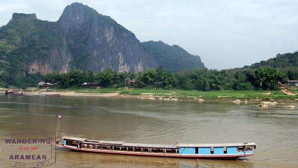 River life near Pak Ou