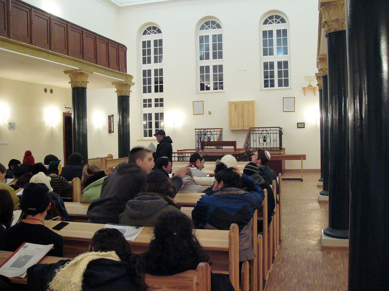 Renovated yeshiva in Lublin. Will there be students?