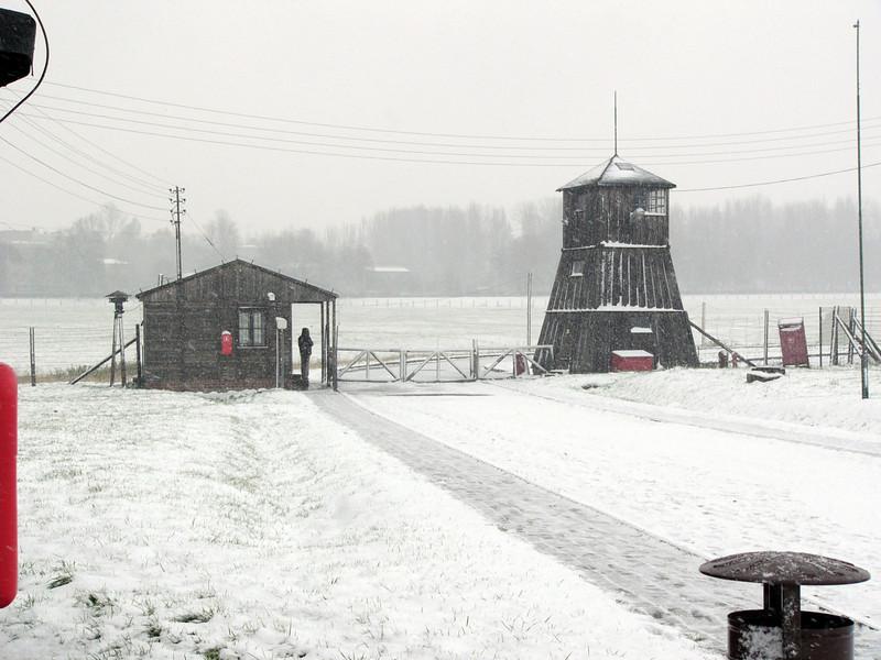 Watch tower at Majdanek