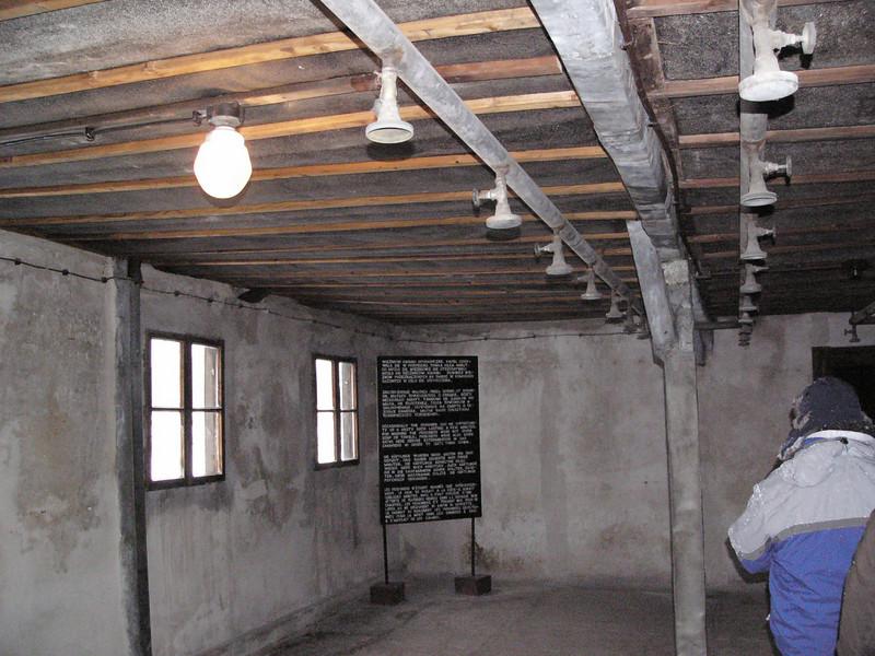 Gas chamber or showers at Majdanek