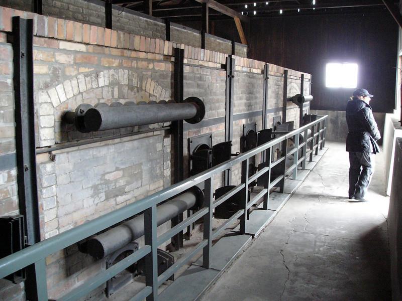 Back of crematorium at Majdanek