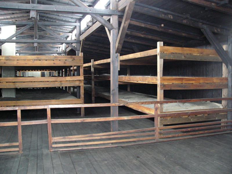 Barrack for prisoners at Majdanek