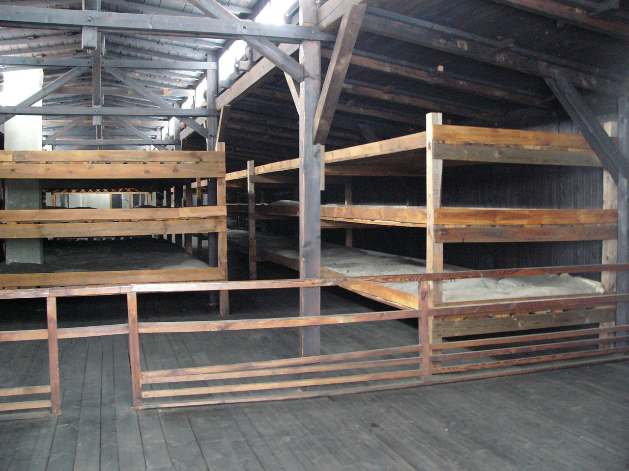 Barrack for prisoners at Majdanek