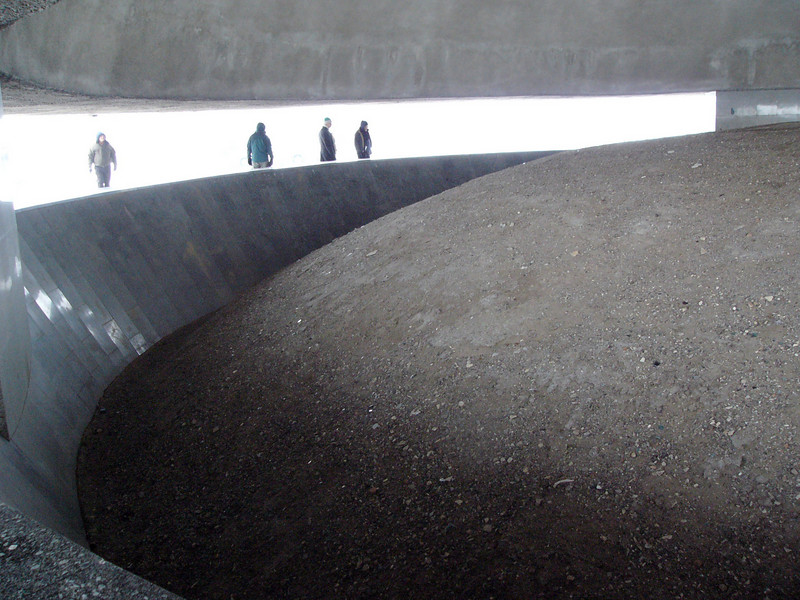 Seeing the enormous heap of human ashes in the mausoleum at Majdanek brought home the size of the tragedy of the Holocaust