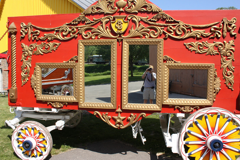 Many of the wagons were built around 1900 and some much earlier.