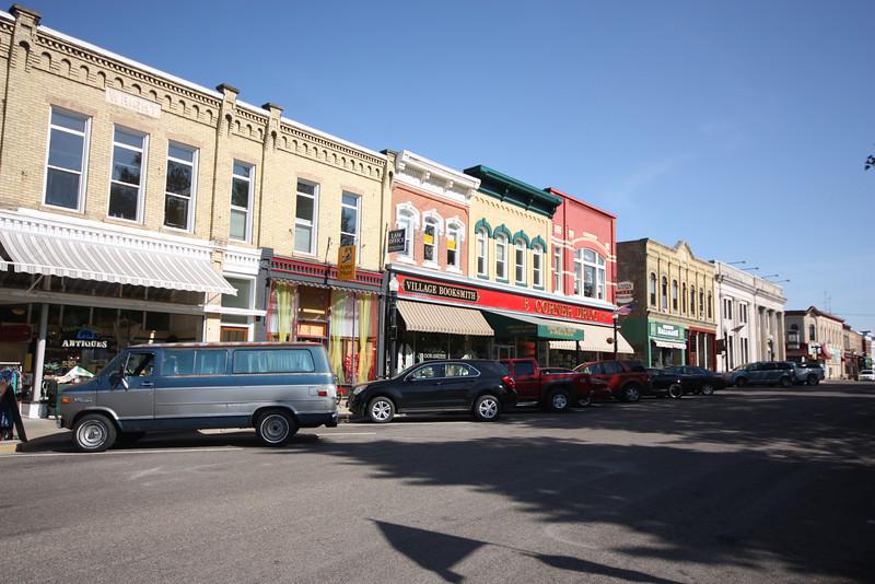 Downtown Baraboo.