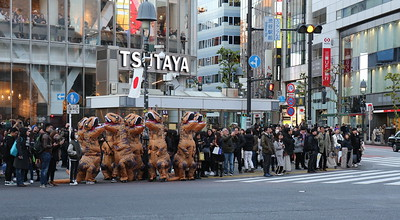 Our first Dino sighting in Tokyo...