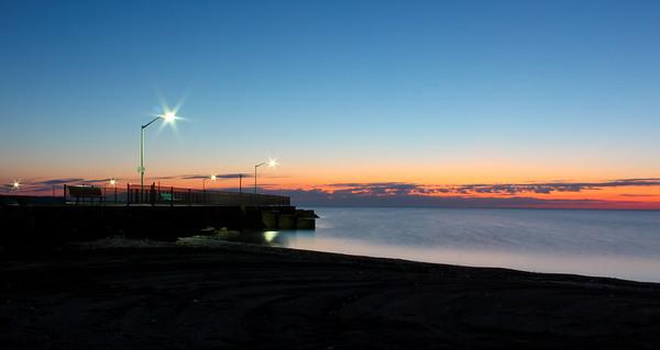 Luna Pier Sunrise Fall 2014