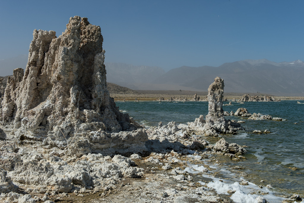 Famous Mono lake Tufa, formed by all the salt and other chemicals in the water.