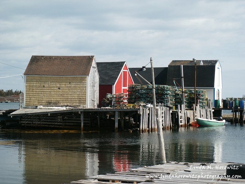 Lobster catch in Lunenberg, Nova Scotia