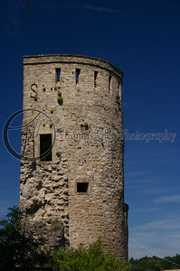 This is what is called a Spanish tower. In Luxembourg they have maps that give visitors a self guided tour itinerary. This maps show everything in the city except for the Spanish towers.  I had to see them....see next photo. Luxembourg City, Luxembourg.
