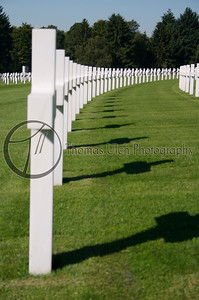 The Military Cemetery at Luxembourg. Luxembourg City, Luxembourg.