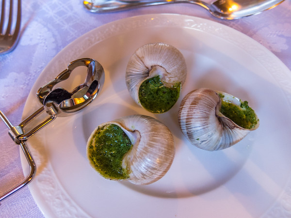 It doesn't get more French than Escargots de Bourgogne.