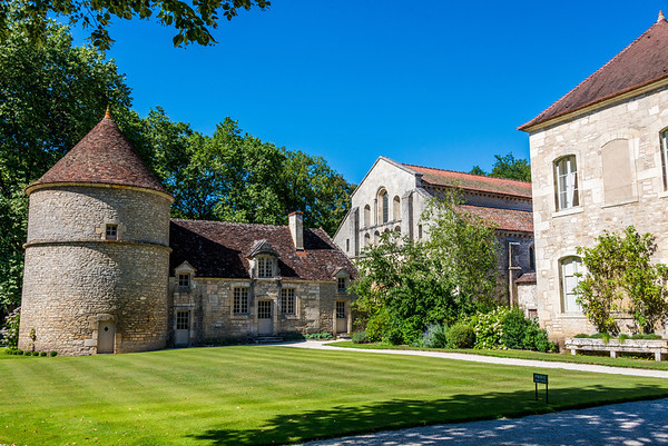 A walk through the restored Abbey of Fontenay, one of the finest surviving monasteries of Romanesque architecture, gave us a first hand idea of what monastic life entailed