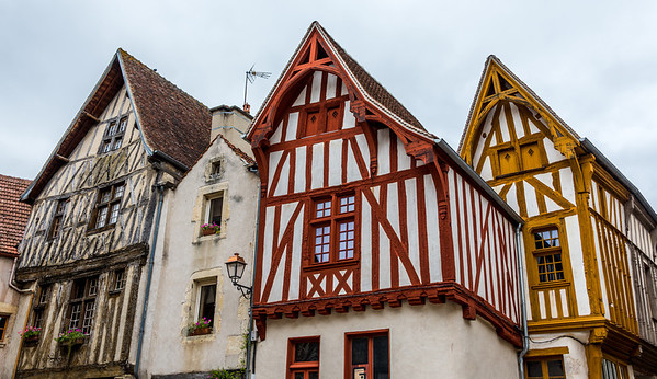 A cluster of 15th century homes in Noters-sur-Serein