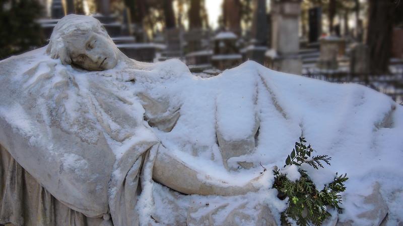 Monument for Jozefina Markowski, Lychakiv Cemetery, Lviv Ukraine