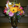 Hey birthday girl....pretty flowers just for you....and remember 45 is just getting started in life these days!