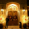 Outside photos of the very nice Mexican restaurant in downtown Livermore CA, Casa Orozco, where Lynne had wanted to go for her birthday. Lynne patiently waiting on me to take photos....!