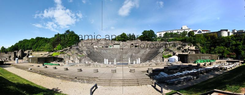 Théâtres Romains de Fourvière, Lyon, France
