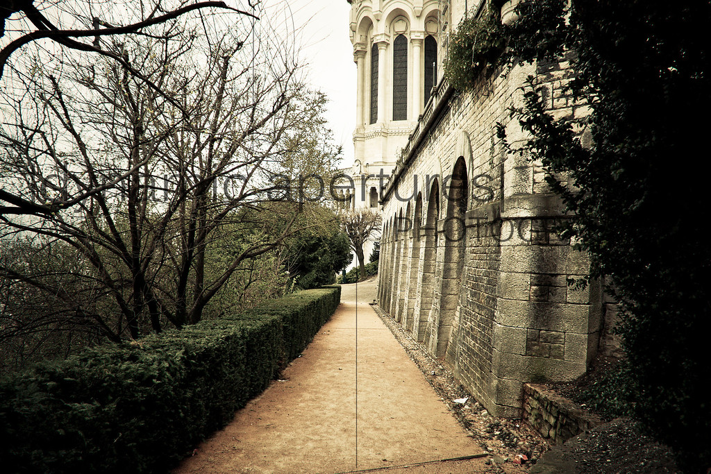 Fourvière Basilica, Lyon, France