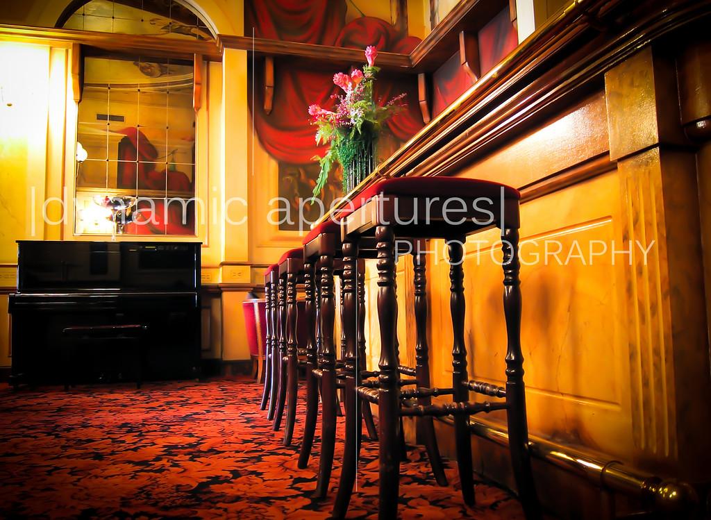 The Hotel Carlton lounge