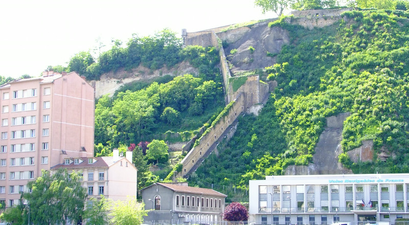 Lyon has been luring people to the area since the Roman times (B.C).  Here is a blending of the ancient and modern.