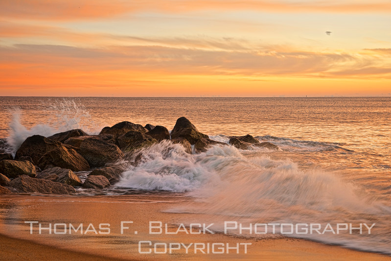 This and frame following, sunrise at newburyport, ma.
