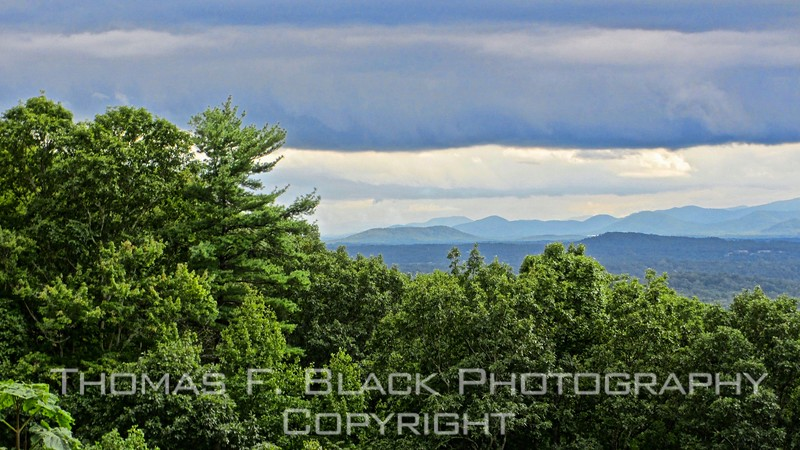 this and two frames following, vistas from road to top of mount greylock,  near north adams.