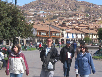 Central Square in Cusco, Peru