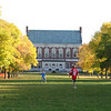 Fall day at Fogler Library University of Maine, Orono