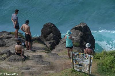 TOURISTS HONOLUA BAY