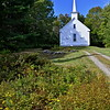 Baptist church, established in 1854 and still in use, South Cushing. [UFP092012]