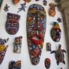 Huichol bead art.