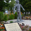 Mackinac City Iron Worker Statue
