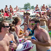 Muscamoot Bay Raft Off 2013 Lake Saint Claire Michigan