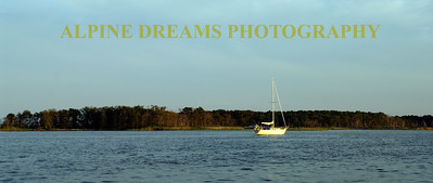 SAILBOAT PANO  BARNEGAT