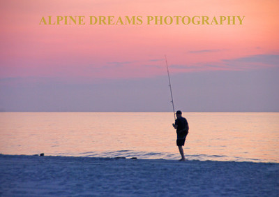 FISHING AT FIRST LIGHT