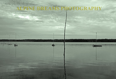 MOORINGS IN BLACK & WHITE