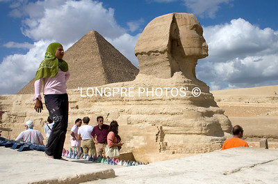 SPHINX with tourists around.