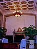 Athletic Club lobby. Ellerbe Associates, architects.