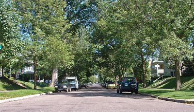 Laurel Avenue -- where I played ball; raked leaves into huge piles to burn; and delivered the Pioneer Press and sold magazines door-to-door.