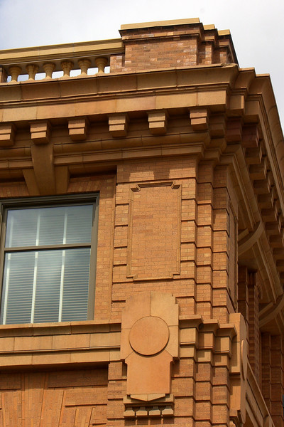 Jones Hall Detail, 1901