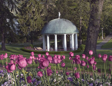 Spring House at the Greenbrier, White Sulphur Springs, WV