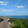 Overlook of Lake Superior near the border of MN and Canada.<br /> July 23, 2012