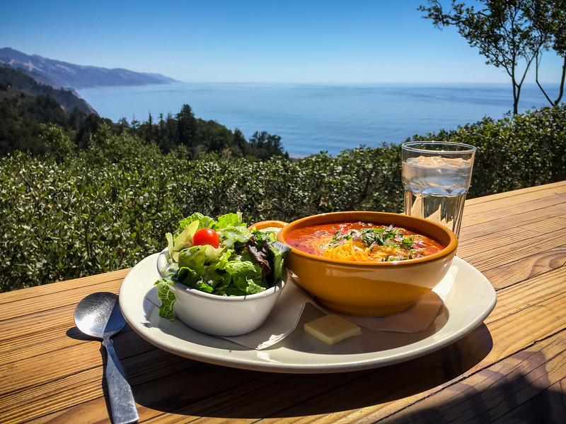 NEPENTHE  RESTAURANT  IN BIG SUR
