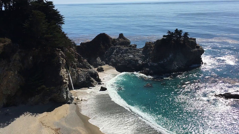 McWAY FALLS VIDEO