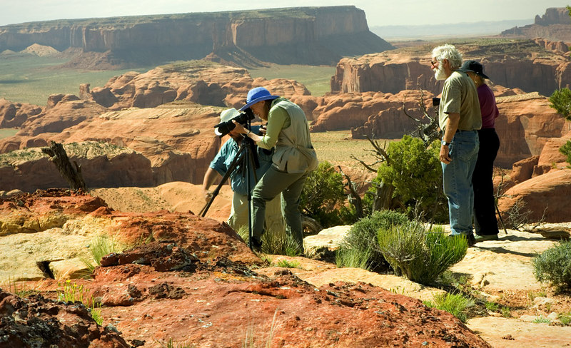 PHOTOGRAPHING ATOP HUNT'S MESA