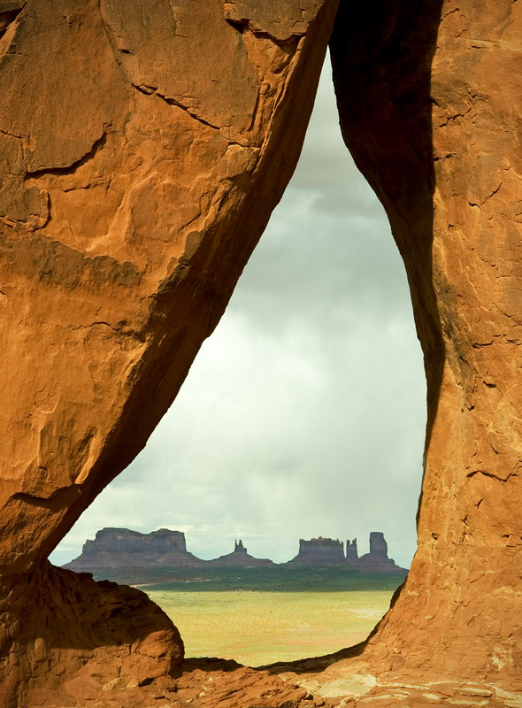 "ANOTHER VIEW - ""TEARDROP"" ARCH"