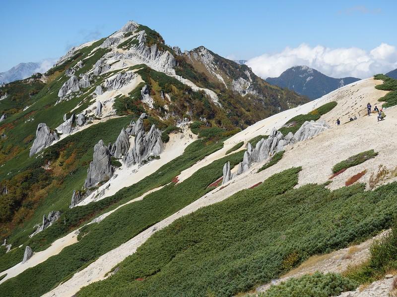 Omote Ginza trail.