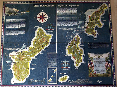 the Marianas Map